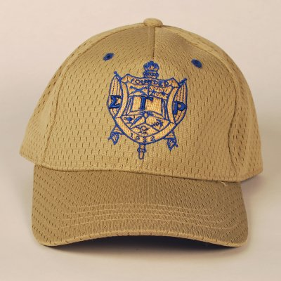 SGR-GREEK SHIELD CAP